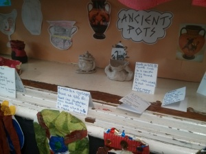 Year 4 museum at Great YArmouth Primary Academy