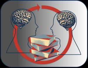 Brains, books, cooperate.